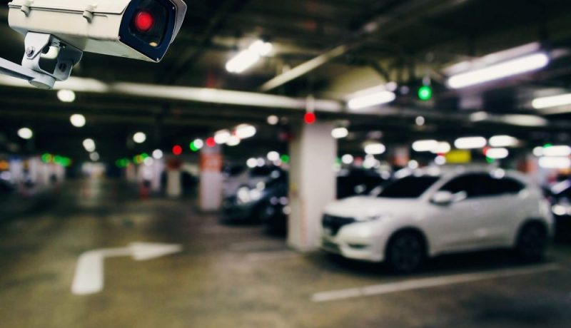 parking with cctv