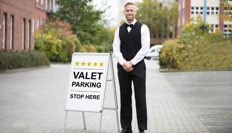 valet parking man parkpca